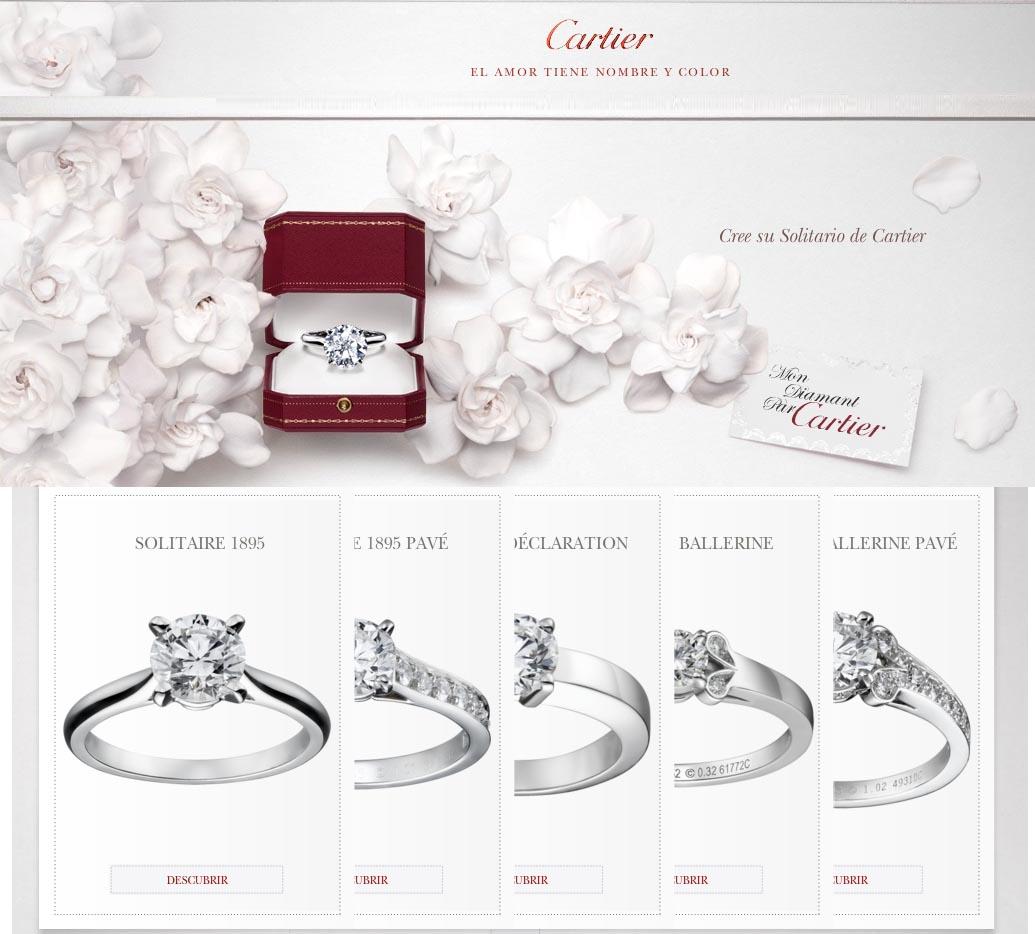 de2588b95b9c Alianzas y Anillos de Compromiso de Cartier