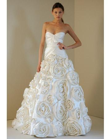 vestidos de novia | monique lhuillier colección primavera 2011