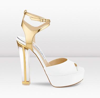 atrevidos zapatos de novia de jimmy choo | bodaestilo